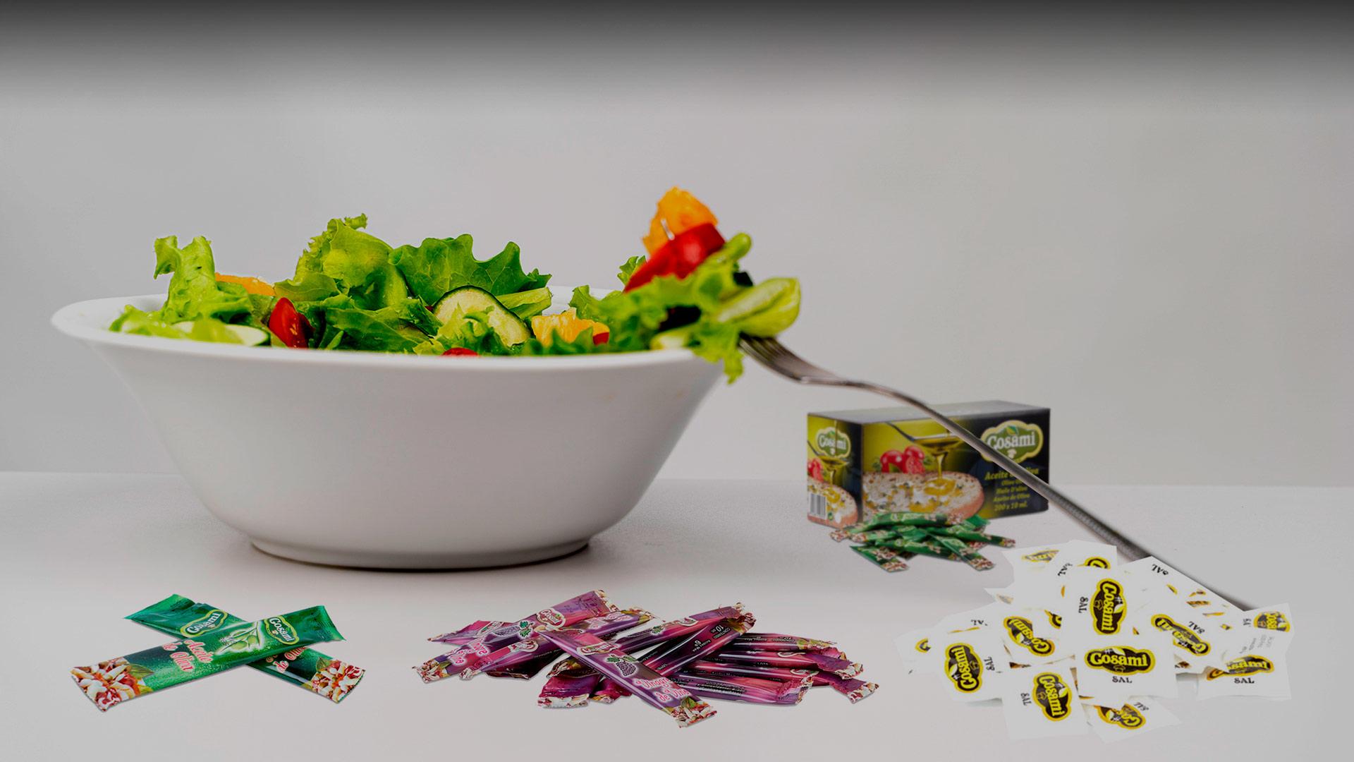 Salsas Monodosis Cosami