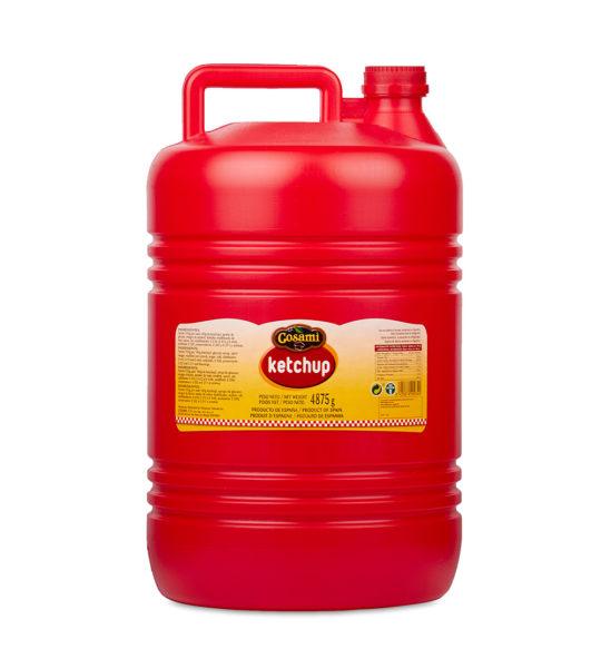 ketchup garrafa 5kg