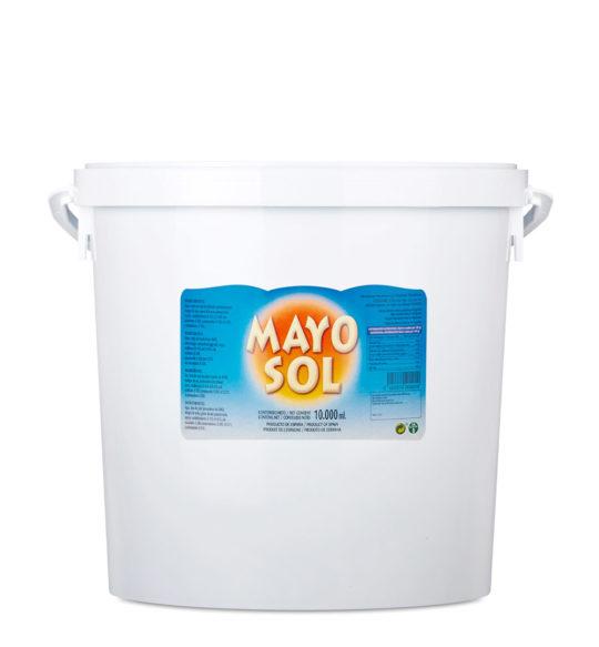 mayonesa cubo 10kg mayosol