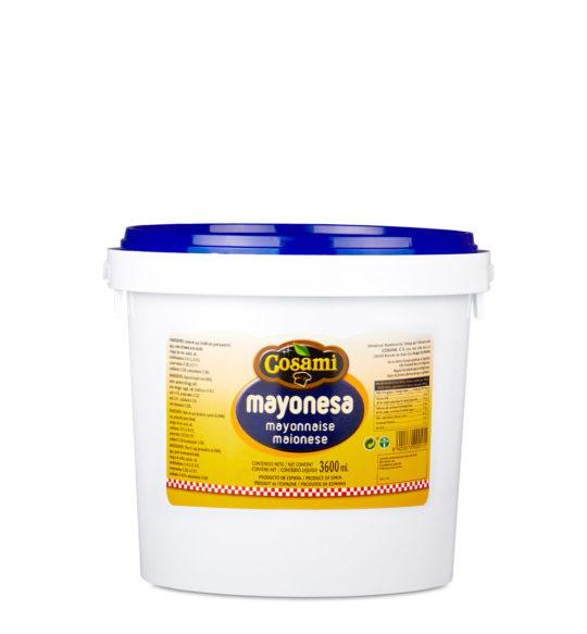 mayonesa cubo 4kg