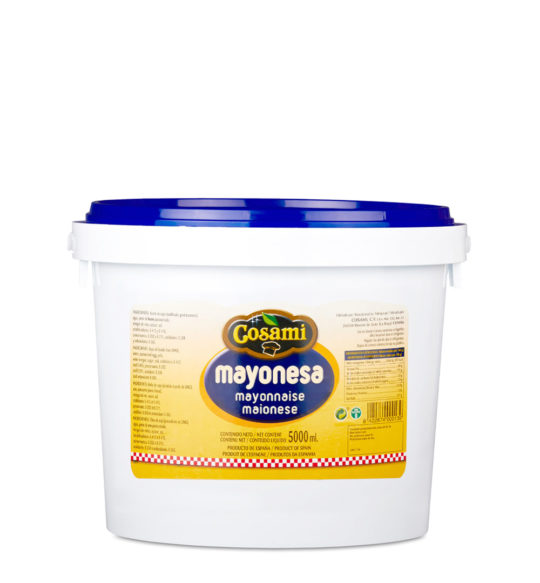 mayonesa cubo 5kg