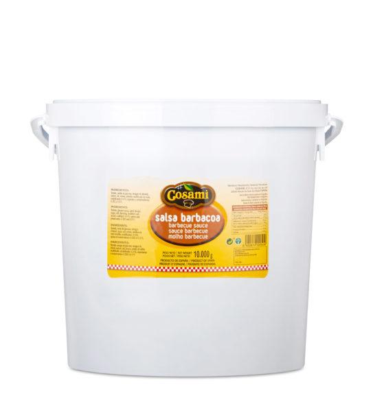 salsa barbacoa cubo 10kg