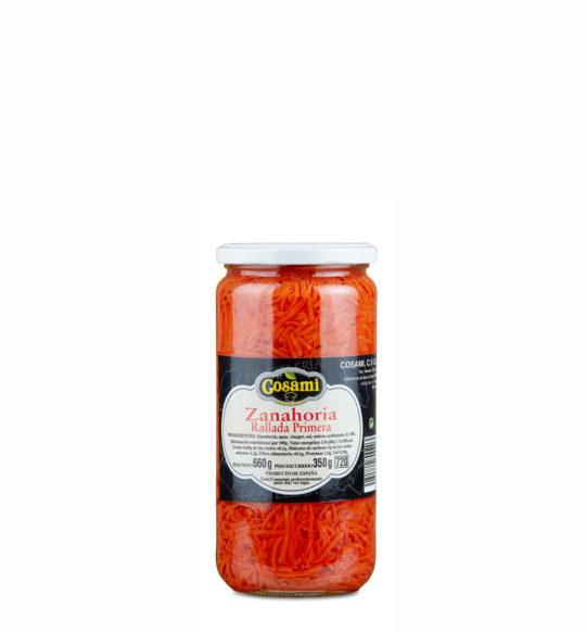 zanahoria rallada frasco 1kg