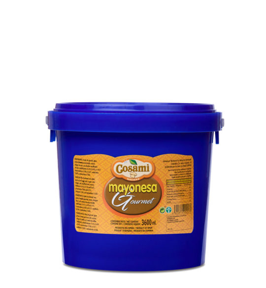 mayonesa gourmet cubo 4kg