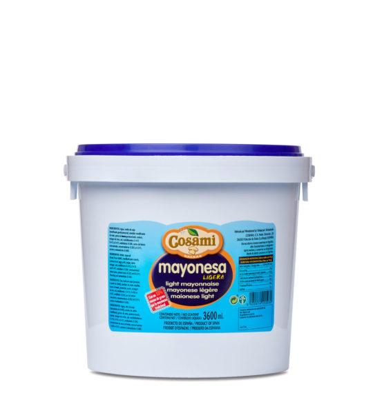 mayonesa ligera cubo 4kg